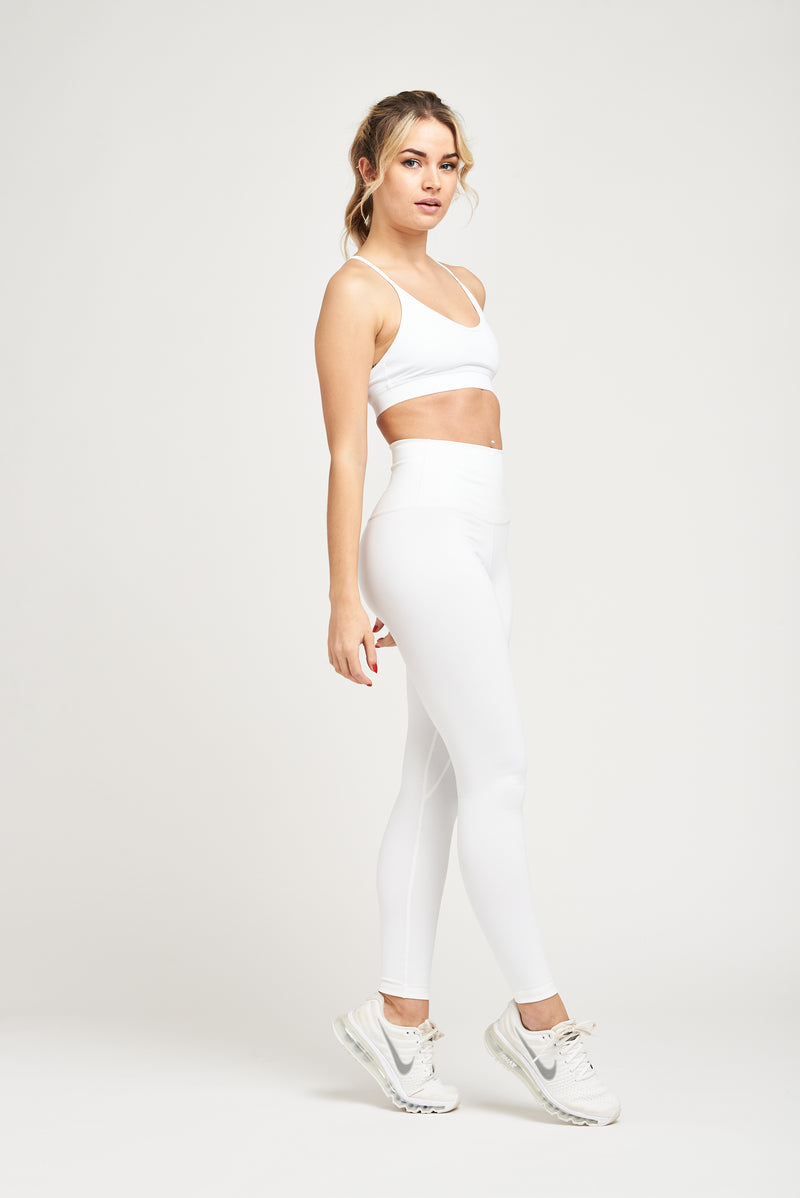 Luxe Leggings - White