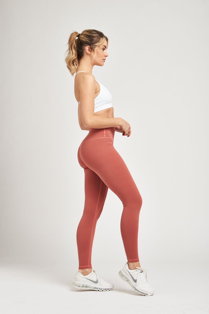 Luxe Leggings - Dusty Rose