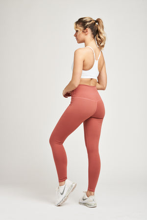 Load image into Gallery viewer, Luxe Leggings - Dusty Rose