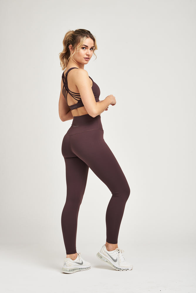 Luxe Leggings - Chocolate