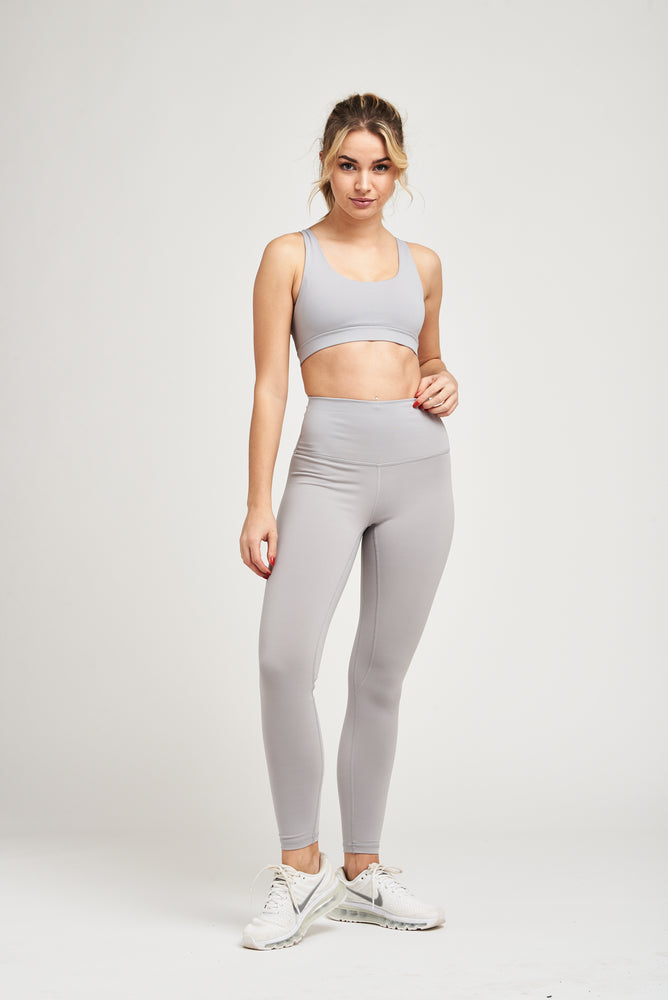 Load image into Gallery viewer, Luxe Strappy Bra - Sport Grey