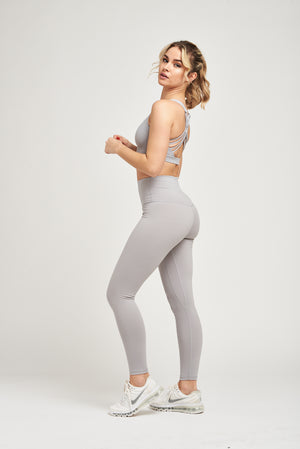 Load image into Gallery viewer, Luxe Leggings - Sport Grey