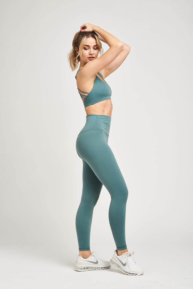 Luxe Leggings - Seafoam