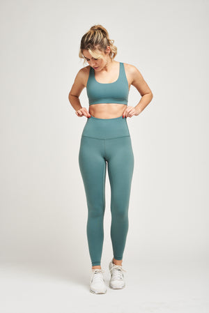 Load image into Gallery viewer, Luxe Leggings - Seafoam