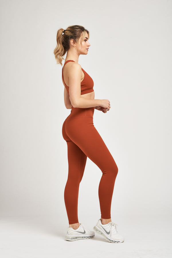Luxe Leggings - Burnt Orange