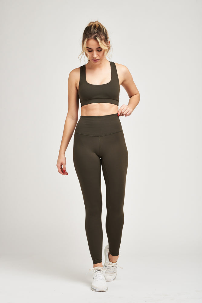Luxe Leggings - Olive