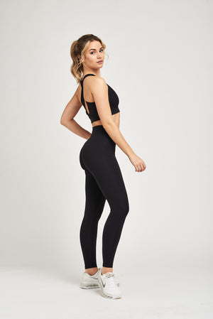 Load image into Gallery viewer, Luxe Leggings - Jet Black