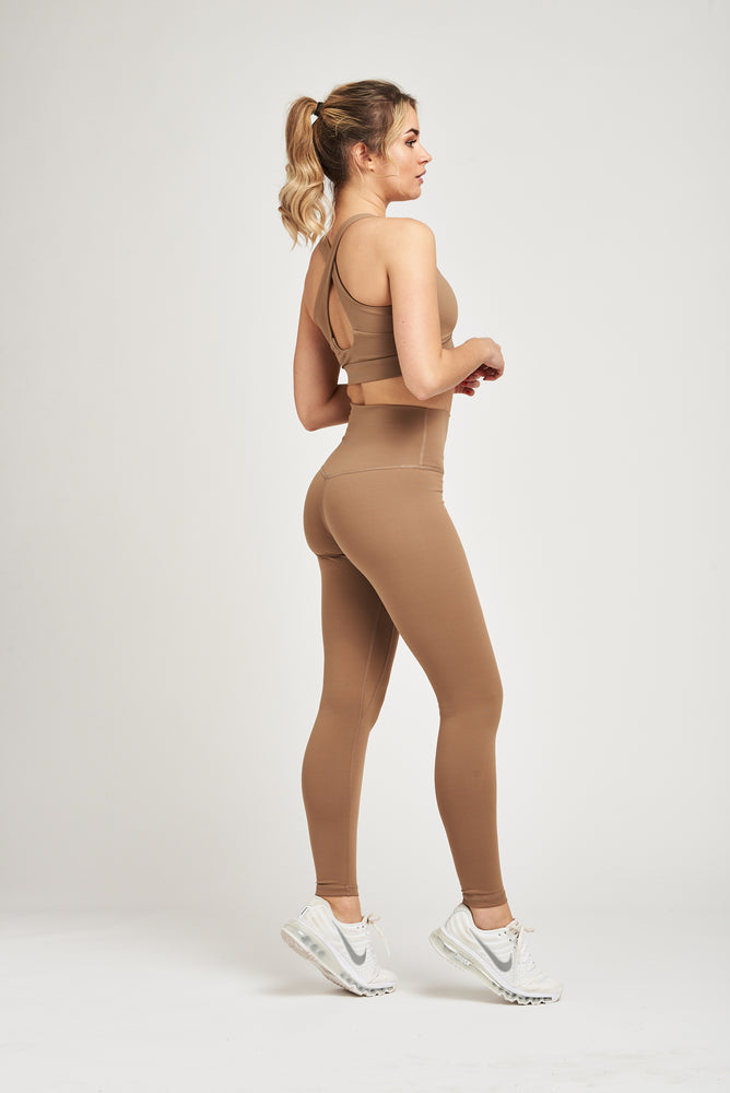 Luxe Leggings - Caramel Taupe