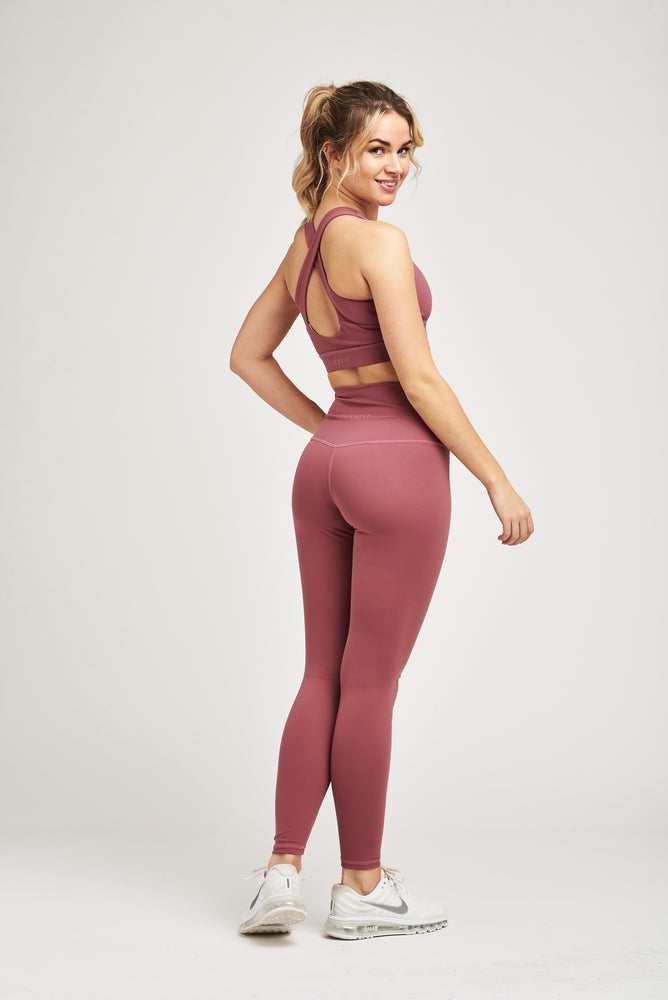 Load image into Gallery viewer, Luxe Leggings - Mystic Merlot