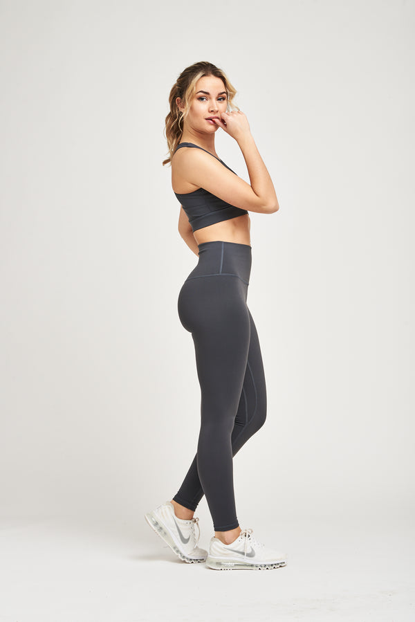 Luxe Leggings - Steel Grey