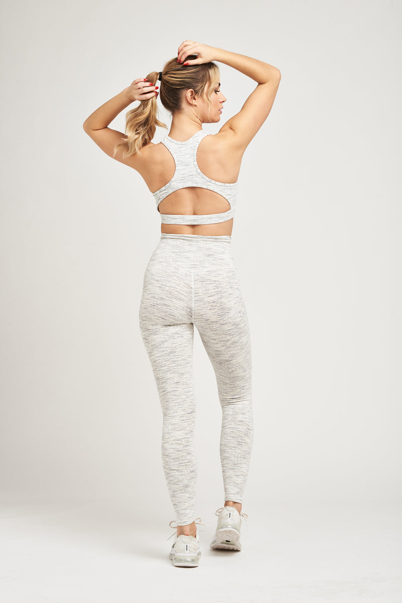 Luxe Breathe Bra - All White Everything