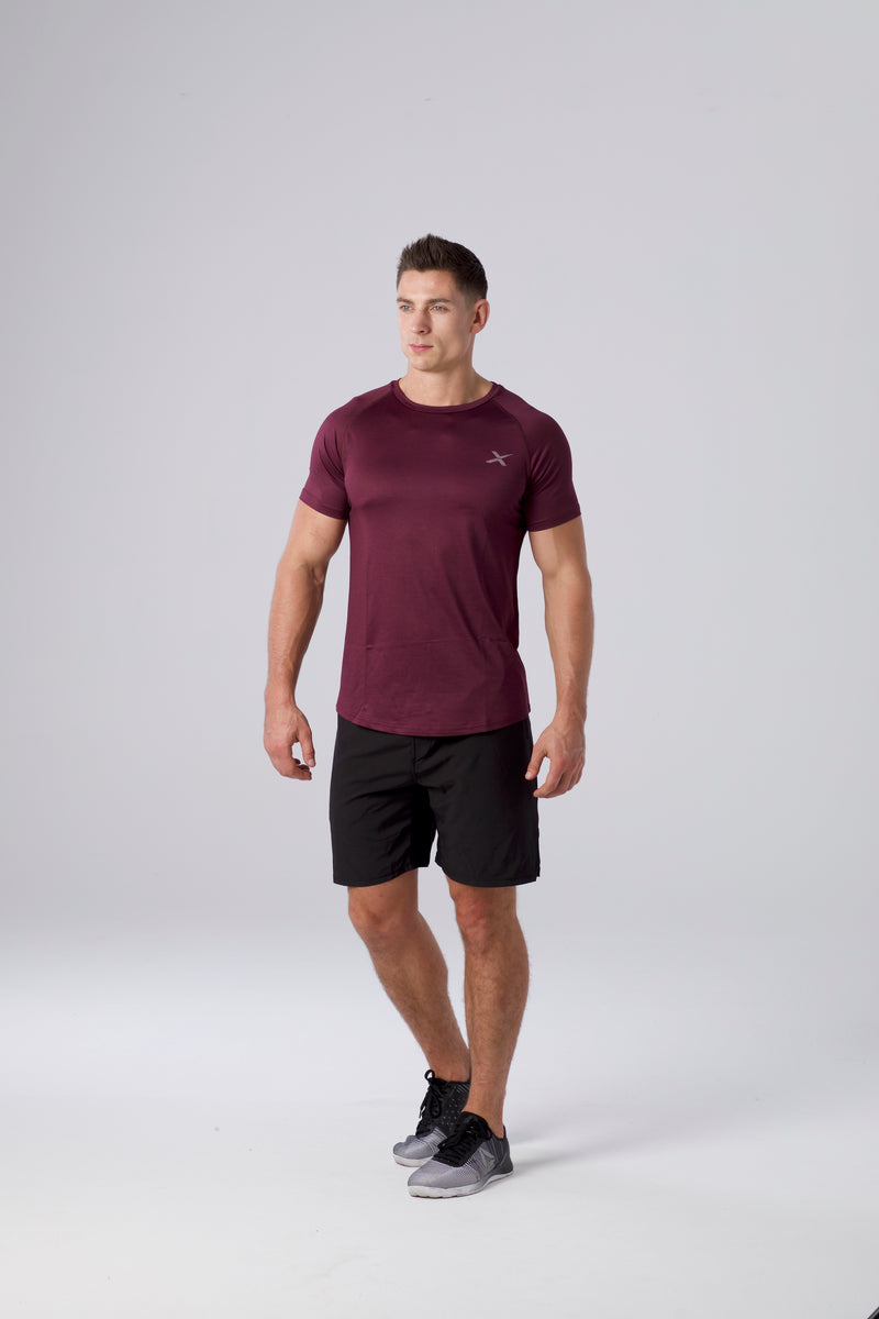 Performance T-Shirt - Bordeaux