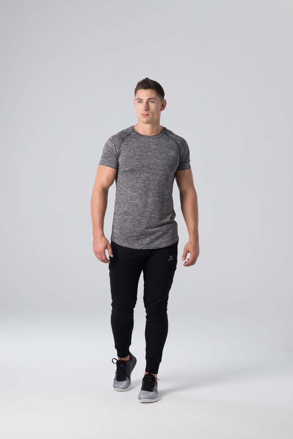 Panelled Sweatpants - Blackout