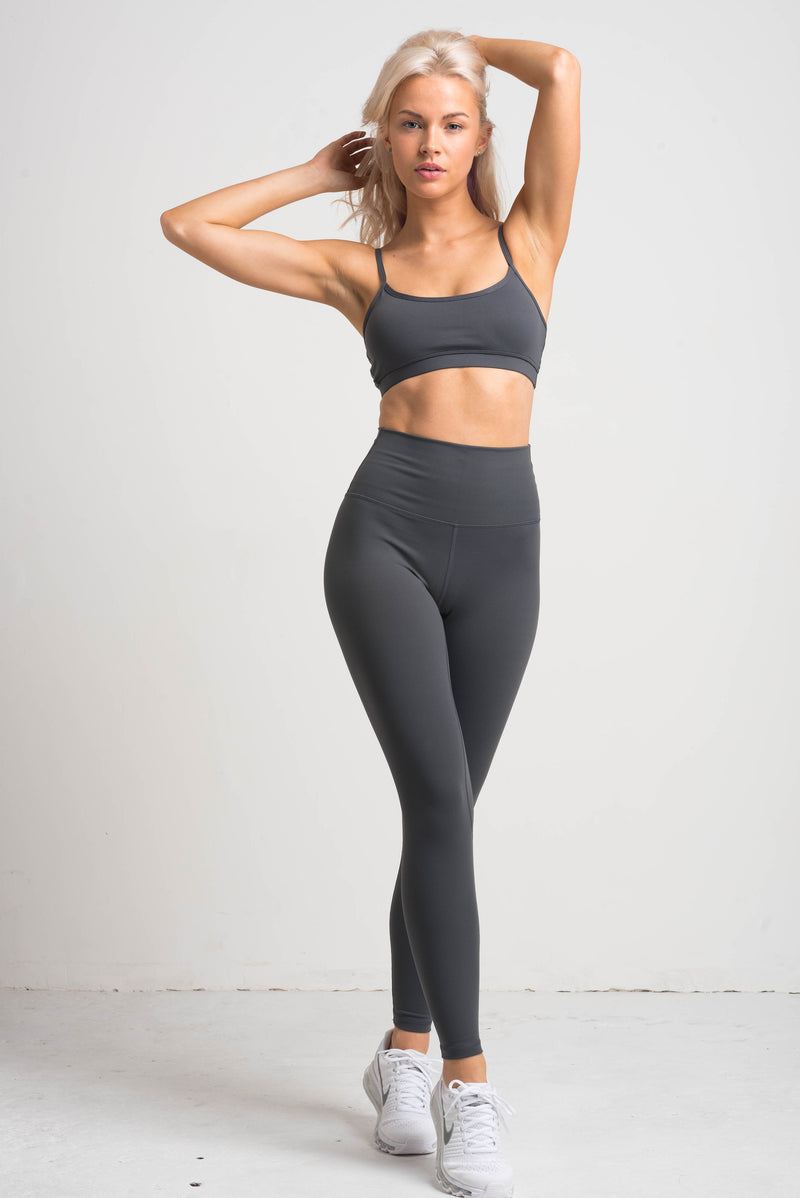 Luxe Bralette - Steel Grey