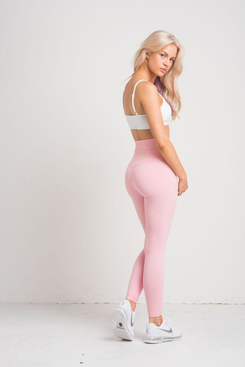 Luxe Leggings - Candyfloss Pink