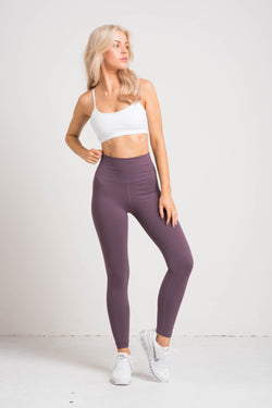 Luxe Leggings - Mauve