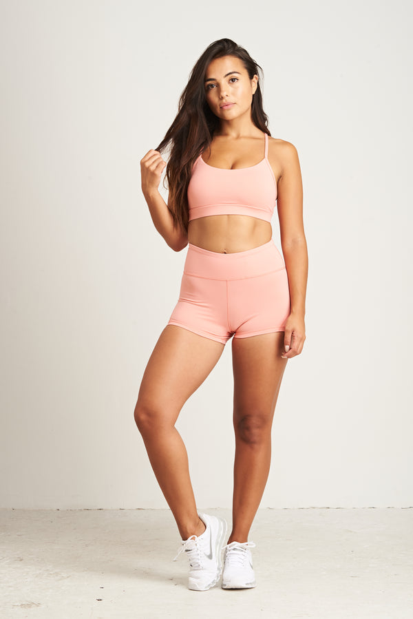 Luxe Shorts - Peachy