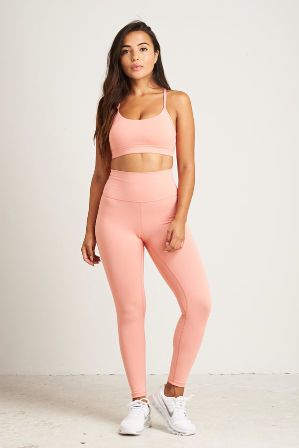 Luxe Leggings - Peachy