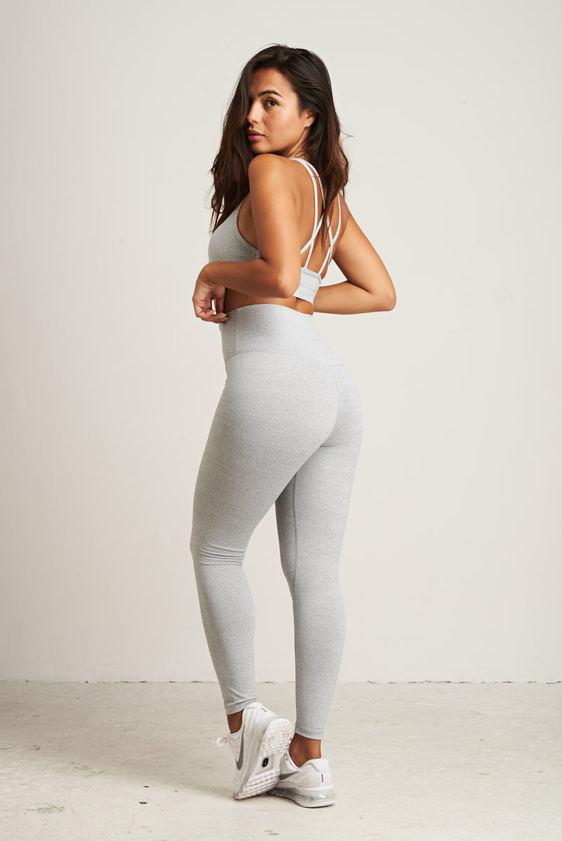 Luxe Leggings - Grey Marl