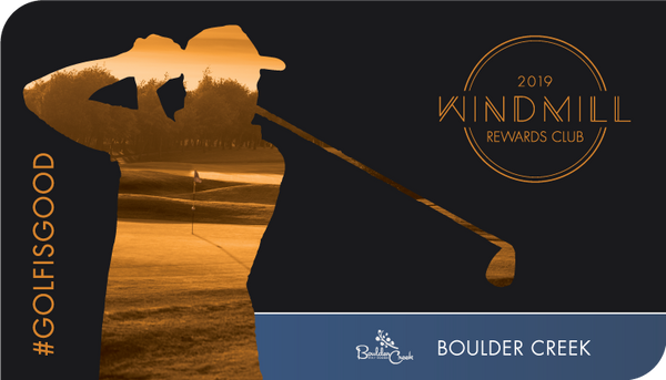 Boulder Creek Only - Windmill Rewards Club Card