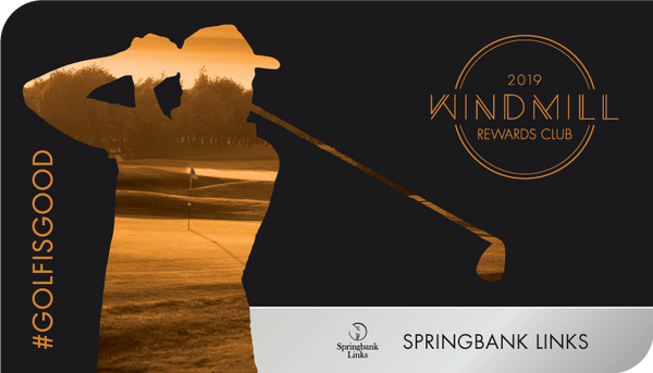 Springbank Links Only - Windmill Rewards Club Card