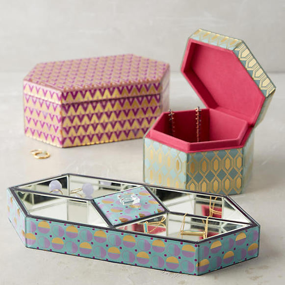 5 beautiful jewellery boxes