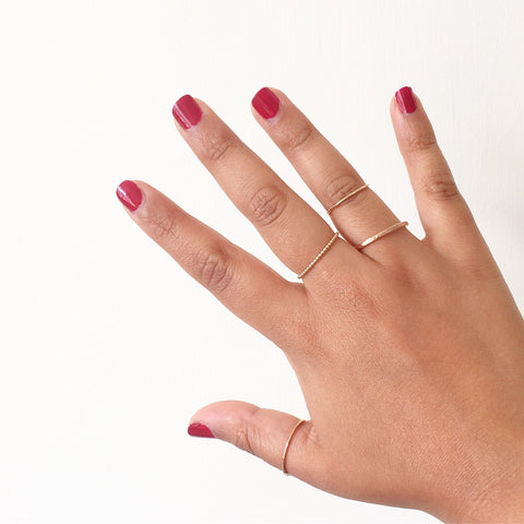 Midi rings - how to wear and style them