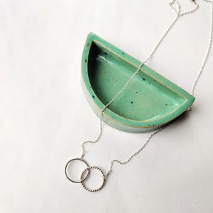 Linked Circle Necklace - handmade by Mela Jewellery