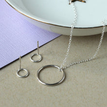 Circle Gift Set - Circle Necklace and O Studs