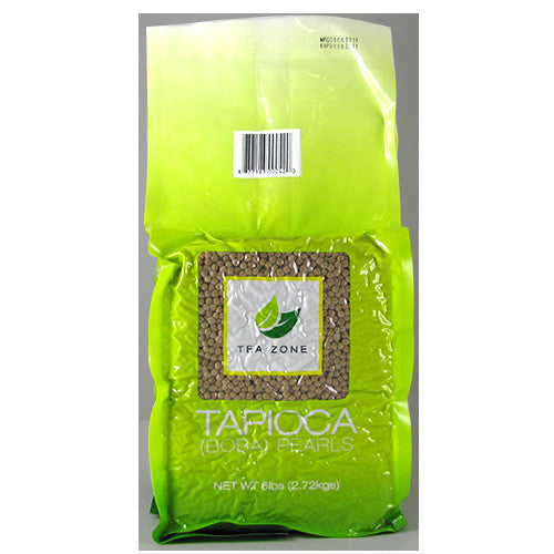 Tea Zone Grade A Tapioca - Bag (6 lbs) - CustomPaperCup.com Branded Restaurant Supplies