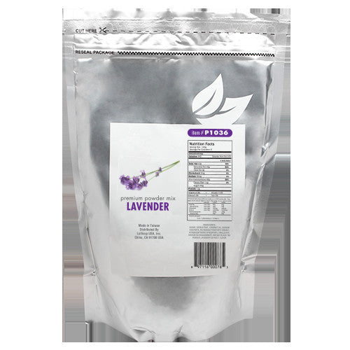 Tea Zone Lavender Milk Tea Powder (1.32 lbs) - CustomPaperCup.com Branded Restaurant Supplies