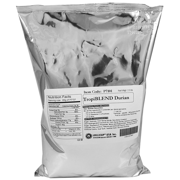 Tea Zone TropiBLEND Durian Powder (2 lbs) - CustomPaperCup.com Branded Restaurant Supplies