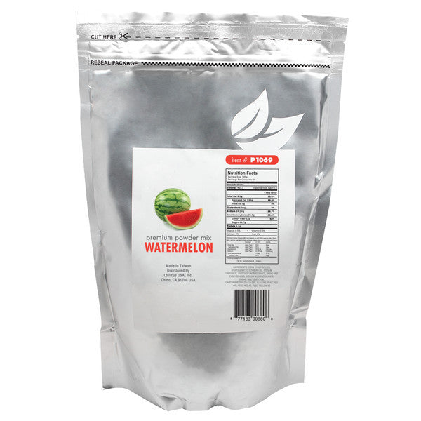 Boba Supplies Wholesale Watermelon Powder www.custompapercup.com