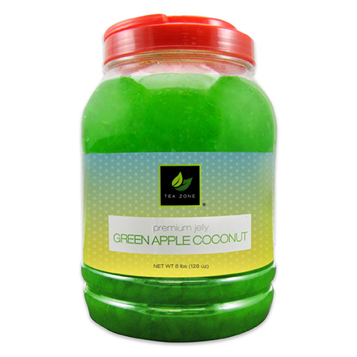 Tea Zone Green Apple Coconut Jelly (8.5 lbs) - CustomPaperCup.com