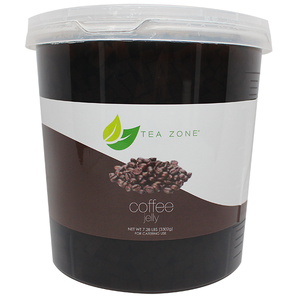Tea Zone Coffee Jelly (7.28 lbs) - CustomPaperCup.com Branded Restaurant Supplies