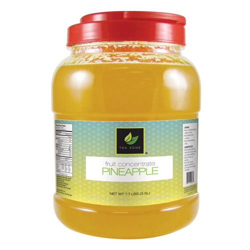 Tea Zone Pineapple Concentrate (7.7 lbs) - CustomPaperCup.com Branded Restaurant Supplies
