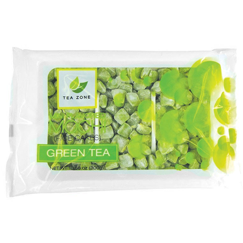 Tea Zone Green Tea Mini Mochi - Bag - CustomPaperCup.com Branded Restaurant Supplies