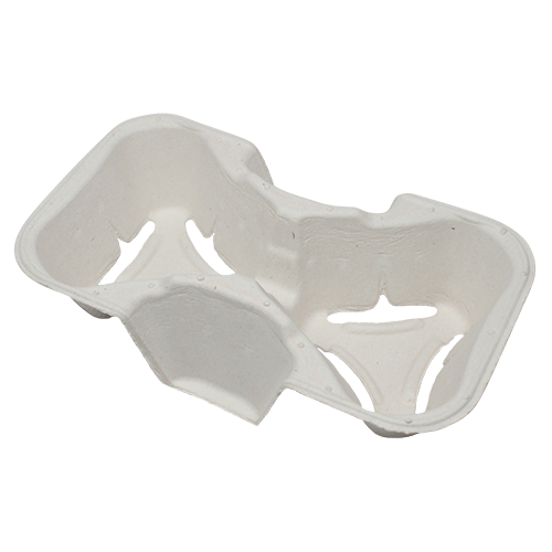 Cup Holder - 2 cups (8oz - 24oz) - 600 ct - CustomPaperCup.com Branded Restaurant Supplies