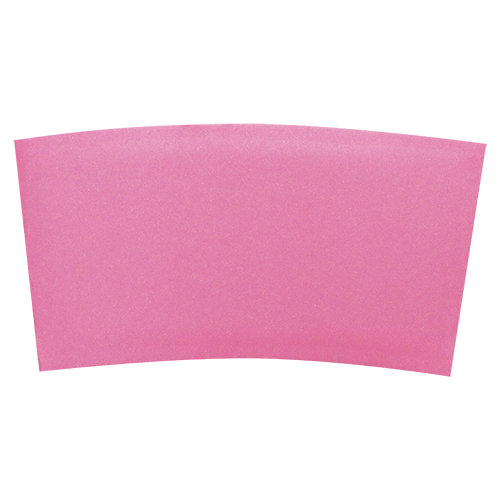 Traditional Cup Jackets - Pink - 1,000 ct - CustomPaperCup.com Branded Restaurant Supplies