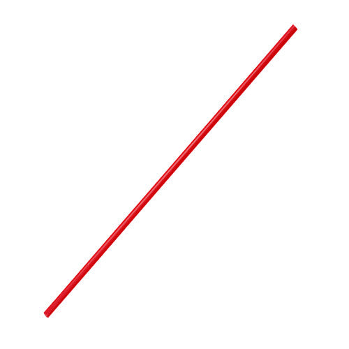 7.5'' Stir Straws (3mm) - Red - 5,000 ct - CustomPaperCup.com Branded Restaurant Supplies