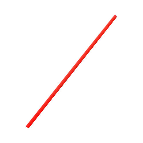 5.25'' Stir Straws (3mm) - Red - 10,000 ct - CustomPaperCup.com Branded Restaurant Supplies