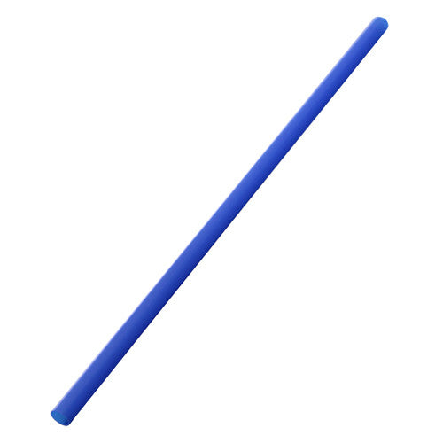 9'' Giant Straws (8mm) Paper Wrapped - Blue - 1,200 ct - CustomPaperCup.com Branded Restaurant Supplies