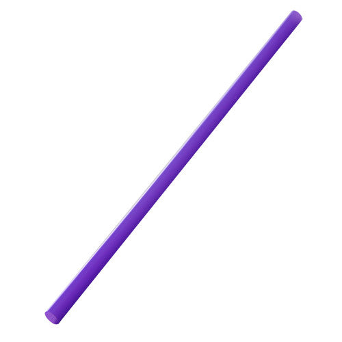 9'' Giant Straws (8mm) Paper Wrapped - Purple - 1,200 ct - CustomPaperCup.com Branded Restaurant Supplies
