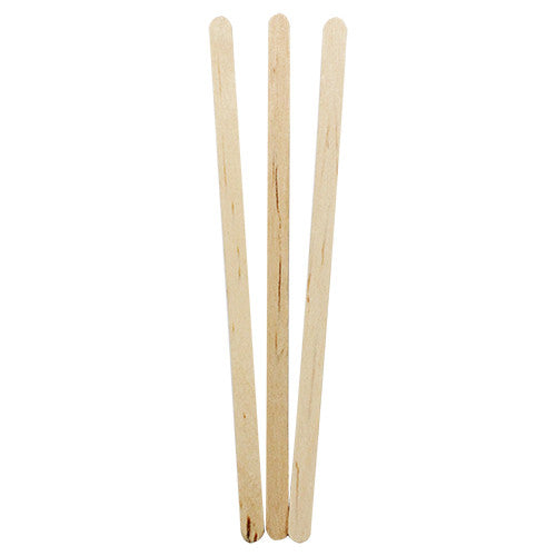 "5.5"" Wooden Stir Sticks - 500 ct - CustomPaperCup.com Branded Restaurant Supplies"