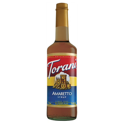 Torani Amaretto Syrup (750 mL) - CustomPaperCup.com Branded Restaurant Supplies