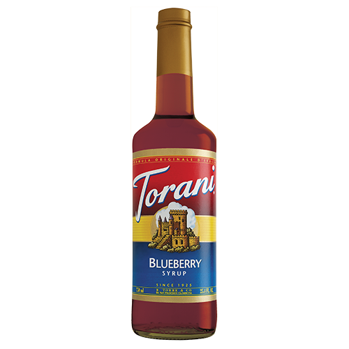 Torani Blueberry Syrup (750 mL) - CustomPaperCup.com Branded Restaurant Supplies