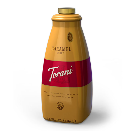 Torani Caramel Sauce (64oz) - CustomPaperCup.com Branded Restaurant Supplies