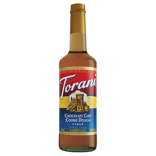 Torani Chocolate Chip Cookie Dough Syrup (750 mL) - CustomPaperCup.com Branded Restaurant Supplies
