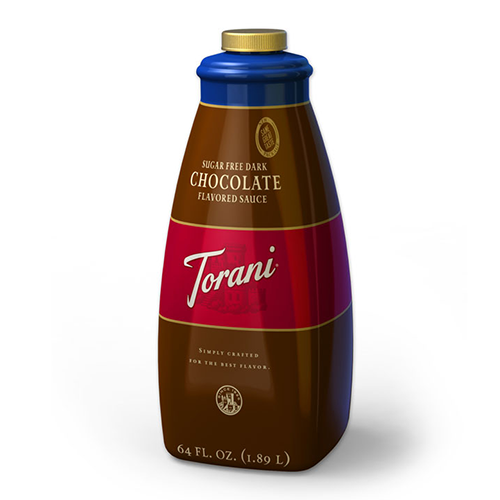 Torani Sugar Free Chocolate Sauce (64oz) - CustomPaperCup.com Branded Restaurant Supplies
