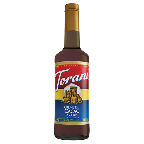 Torani Crème de Cacao Syrup (750 mL) - CustomPaperCup.com Branded Restaurant Supplies